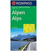 Kompass Karte N.350: Alpen 1:500.000, 1:500.000