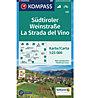 Kompass Carta topografica N.685: La strada del vino 1:25.000, 1:25.000