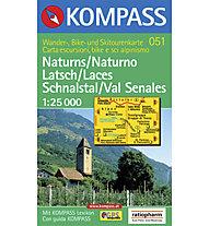 Kompass Karte Nr. 051 1:25.000, 1:25.000