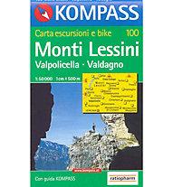 Kompass Carta N° 100 1:50.000, 1:50.000