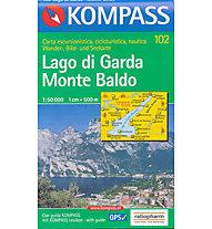 Kompass Carta N° 102 1:50.000, 1:50.000