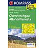 Kompass Carta Nr. 041 Alta Val Venosta, 1:25.000