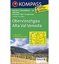 Kompass Karte Nr. 041 Obervinschgau, 1:25.000
