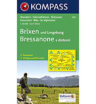 Kompass Carta Nr. 050 Bressanone e dintorni, 1:25.000