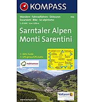 Kompass Karte Nr. 056 Sarntaler Alpen, 1:25.000