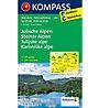 Kompass Carta N° 2801 Julische Alpen - Steiner Alpen, 1: 75.000