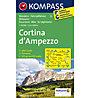 Kompass Karte Nr. 55 Cortina D'Ampezzo, 1: 50.000