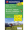 Kompass Karte Nr. 57 Bruneck - Toblach, 1:50.000