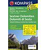 Kompass Carta N° 58 Dolomiti di Sesto, 1: 50.000