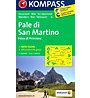 Kompass Karte Nr. 76 Pale di San Martino, 1: 50.000
