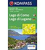 Kompass Carta N.91: Lago di Como - 1:50.000, 1:50.000