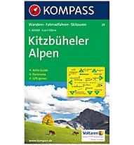 Kompass Carta Nr. 29 Kitzbüheler Alpen 1:50.000, 1:50.000