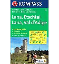 Kompass Karte Nr. 054 Lana / Etschtal, 1:25.000