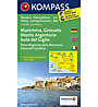 Kompass Karte N.2470: Maremma, Argentario, Grosseto, Isola del Giglio 1:50.000, 1:50.000
