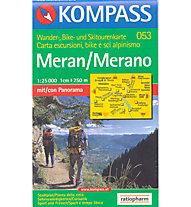 Kompass Carta N° 053 1:25.000, 1:25.000