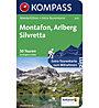 Kompass Carta Nr. 5605 Montafon, Arlberg, Silvretta - 50 Touren, Karte Nr. 5605
