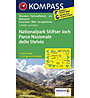 Kompass Karte Nr.072 Nationalpark Stilfser Joch 1:50.000, 1:50.000