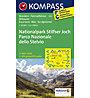Kompass Carta N.072 Parco Nazionale dello Stelvio 1:50.000, 1:50.000