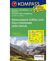 Kompass Karte Nr.072 Nationalpark Stilfser Joch 1:50.000, 1:50.000