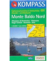 Kompass Carta N° 691 1:25.000, 1:25.000
