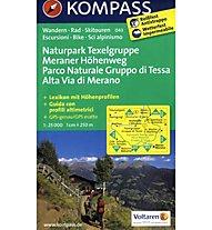 Kompass Karte Nr. 043 Naturpark Texelgruppe 1:25.000, 1:25.000