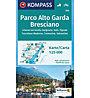Kompass Karte N.694: Parco Alto Garda Bresciano 1:25.000, 1:25.000