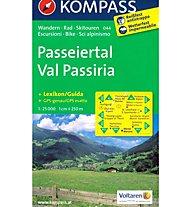 Kompass Carta Nr. 044 Val Passiria, 1:25.000