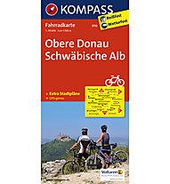 Kompass Karte Nr. 3110 Obere Donau, Schwäbische Alb - 1:70.000, 1:70.000