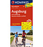 Kompass Karte Nr. 3116 Augsburg und Umgebung - 1: 70.000, 1:70.000