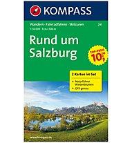 Kompass Carta Nr. 291 Salisburgo e dintorni 1:50.000, 1:50.000