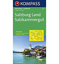 Salzkammergut Karte.Karte N 334 Salzburg Land Salzkammergut 1 125 000 Panorama Autokarte