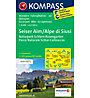 Kompass Karte Nr. 067: Seiser Alm, Naturpark Schlern - Rosengarten 1:25.000, 1:25.000