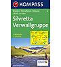 Kompass Karte N.41: Silvretta Verwallgruppe - 1:50.000, 1:50.000