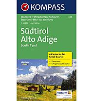 Kompass Südtirol - Kartenset N.699, 1:50.000