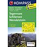 Kompass Carta Nr.8: Tegernsee, Schliersee, Wendelstein 1:50.000, 1:50.000