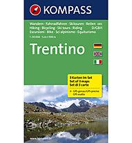 Kompass Trentino - Kartenset N.683, 1:50.000