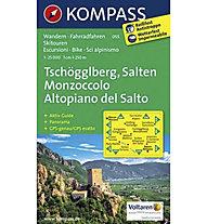 Kompass Tschöggelberg Salten, 1:25.000