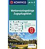 Kompass Karte Nr.5 Wettersteingebirge,Zugspitzgebiet 1:50.000, 1:50.000