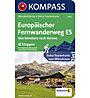 Kompass Karte Nr. 5962 Europäischer Fernwanderweg E5, Karte Nr. 5962