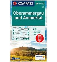 Kompass Carta Nr. 05 Oberammergau und Ammertal 1:35.000, 1:35.000