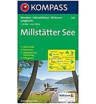 Kompass Carta Nr. 066 Millstätter See 1:25.000, 1:25.000
