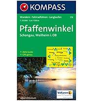 Kompass Carta Nr. 179 Pfaffenwinkel, Schongau 1:50.000, 1:50.000
