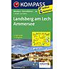 Kompass Carta Nr. 189 Landsberg am Lech, Ammersee - 1:50.000, 1:50.000