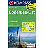 Kompass Karte Nr.1B Bodensee, Ost - 1: 50.000, 1:50.000