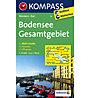 Kompass Karte Nr. 1C Bodensee Gesamtgebiet - 1:75.000, 1:75.000