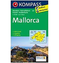 Kompass Karte Nr. 230 Mallorca  1:75.000, 1:75.000
