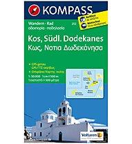 Kompass Carta Nr. 252 Kos, Südl. Dodekanes 1: 50.000, 1:50.000