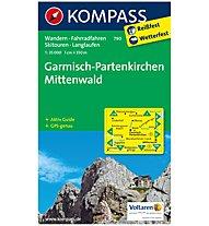 Kompass Carta Nr. 790 Garmisch-Partenkirchen 1:35.000, 1:35.000
