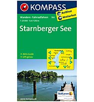 Kompass Karte Nr. 793 Starnberger See 1:25.000, 1:25.000