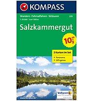 Kompass Karte Nr. 229 Salzkammergut 1:50.000, 1:50.000